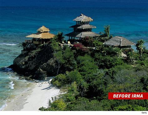 necker island richard branson s necker island devastated by hurricane