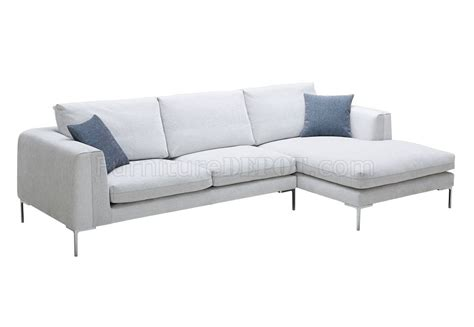off white sectional sofa bianca sectional sofa in off white premium fabric by j m