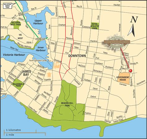 printable maps victoria bc victoria map abbeymoore bed and breakfasts in victoria
