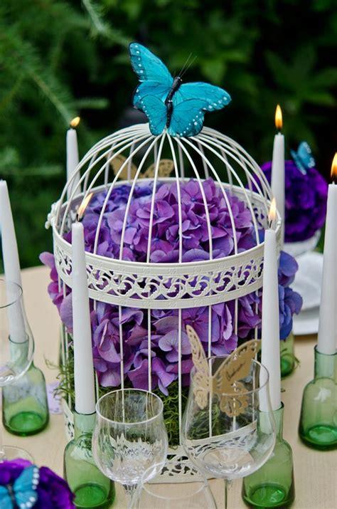 amazing birdcage wedding centerpieces