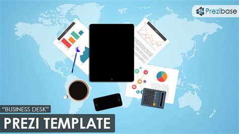 Business Desk Prezi Template Prezibase Free Prezi Templates For Business