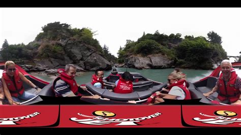 shotover jet boat video shotover jet queenstown new zealand virtual reality