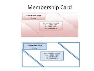 membership card templates printable cards xcombear