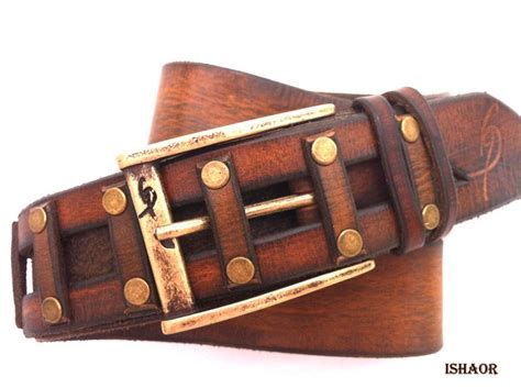Handmade Mens Leather Belts - discover and save creative ideas