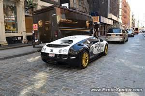 Bugatti In Nyc Bugatti Veyron Spotted In New York New York On 07 03 2013