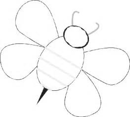 Bumble Bee Template by Baby Bees House Bee Templates