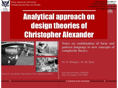a pattern language christopher alexander ebook free download analytical approach on design theories of christopher