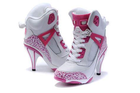Nike Wedges Pink White nike air wedges nike air heels 3 5 pink