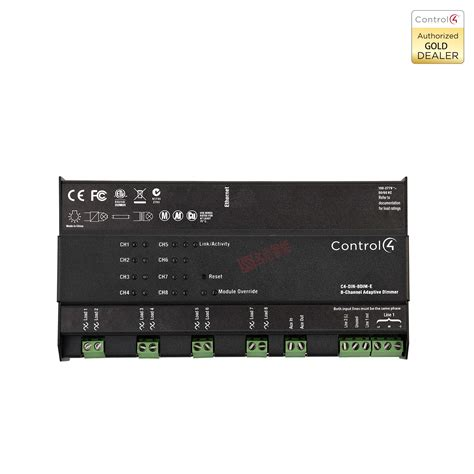 control4 zigbee home automation 8 channel dimmer module c4