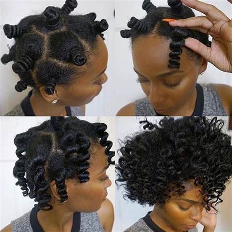 Bantu Knot Out Hairstyles by How To Curl Your Hair Without Heat No Heat Curls Tutorials
