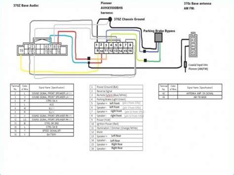 pioneer parking brake bypass wiring diagram