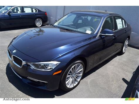 2012 bmw 3 series 335i sedan in imperial blue metallic photo 9 n67440 auto j 228 ger german