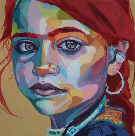 colorful portraits colorful portraits valls