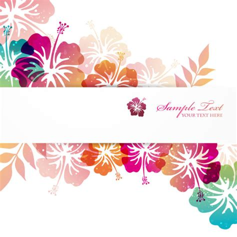 flower pattern vector graphics flower elements background vector graphics vector