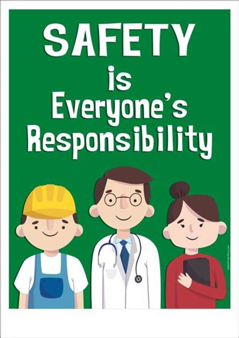 safety poster safety is everyone s responsibility safety poster shop