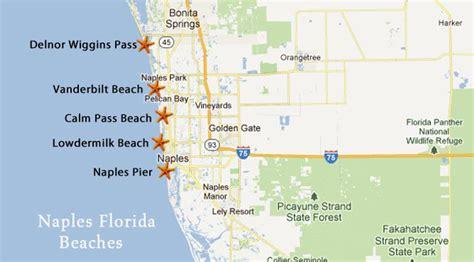 map of naples florida beaches naples beaches southwest florida travel