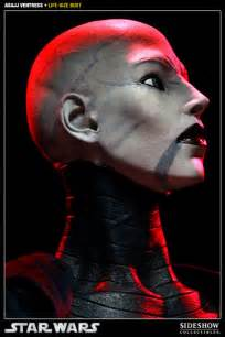 star wars asajj ventress size bust sideshow collecti sideshow collectibles
