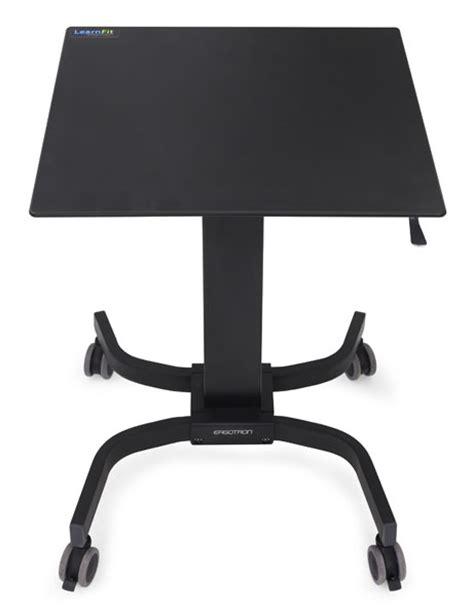 ergotron adjustable height desk ergotron learnfit adjustable standing desk front