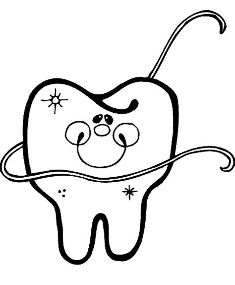 fun coloring pages dental tooth coloring pages