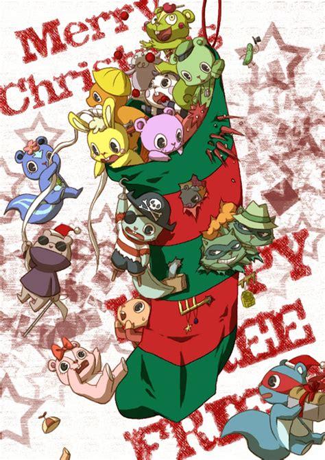 happy tree friends fan art anime happy tree friends