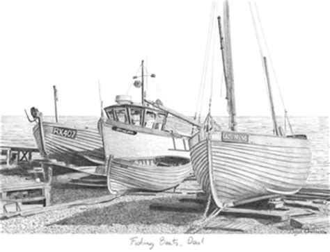 how to draw a jon boat fishing boat drawings