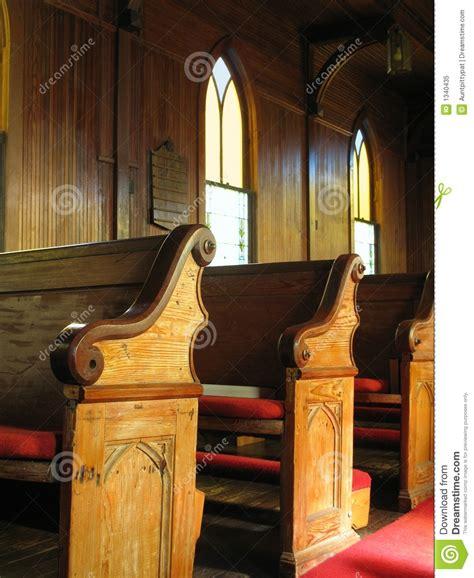 church pews royalty  stock photo image