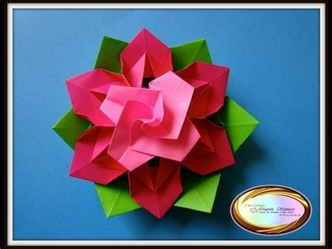 Beautiful Origami Flowers - origami maniacs 116 beautiful origami flower
