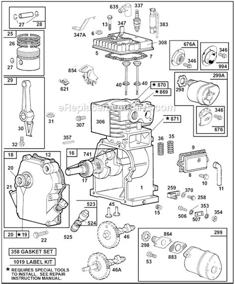 honda small engine illustrated service manual by cycle soft issuu briggs and stratton 60100 series parts list and diagram 1015 1016 1111 1130 1222 1300