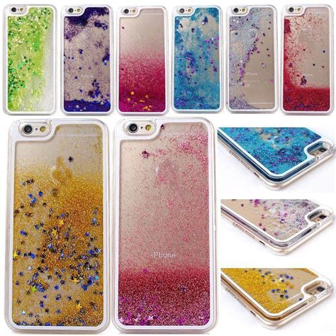 Water Glitter Iphonesamsungxiaomi liquid glitter water moving bling sparkly cover for samsung s6 s7edge ebay