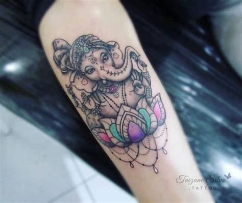 electric lotus tattoo best 25 ganesha ideas on