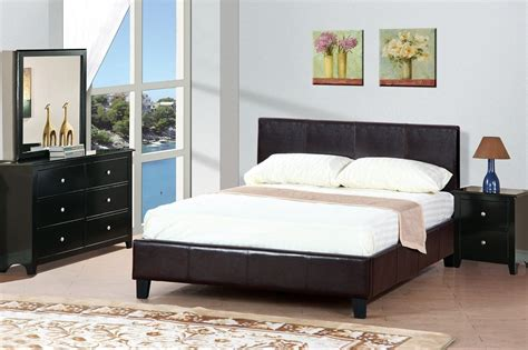 brown bed brown leather queen size bed steal a sofa furniture