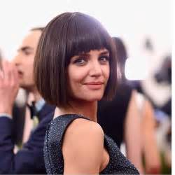 bob haircuts with bangs for 50 blunt short haircuts for women over 50