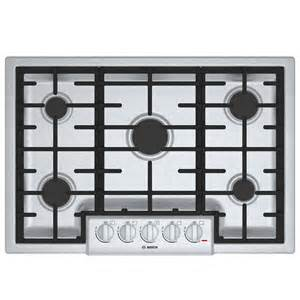 five cooktop shop bosch 800 series 5 burner gas cooktop stainless