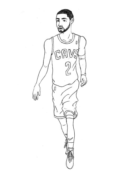 kyrie irving pencil drawing by kulstowibra on deviantart