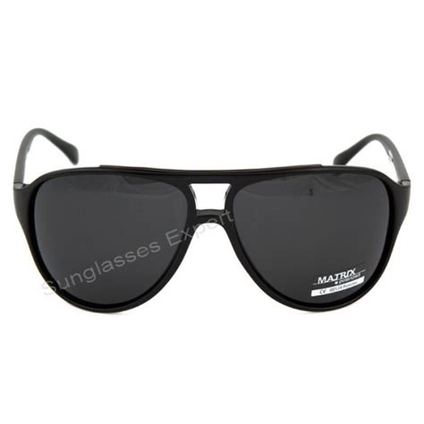Retro Polarized Sunglasses black retro design polarized sunglasses