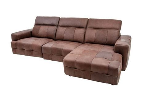 brown leather corner sofa tempest brown leather corner sofa absolute home