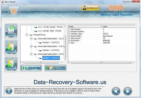 full version of data recovery software of memory card memory card file undelete screenshot x 64 bit download