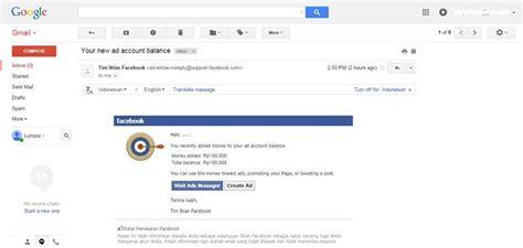 tutorial membuat iklan di facebook cara membuat akun iklan facebook pembayaran atm bersama bejo
