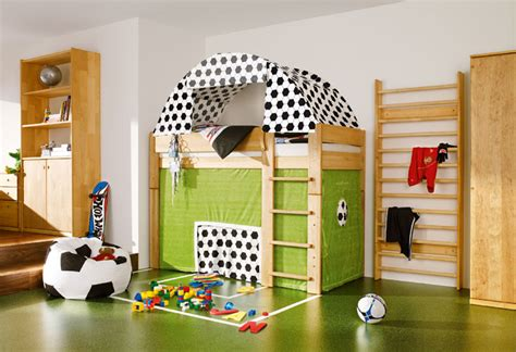 15 awesome kids soccer bedrooms home design and interior soccer field cool kids room themed side view interior