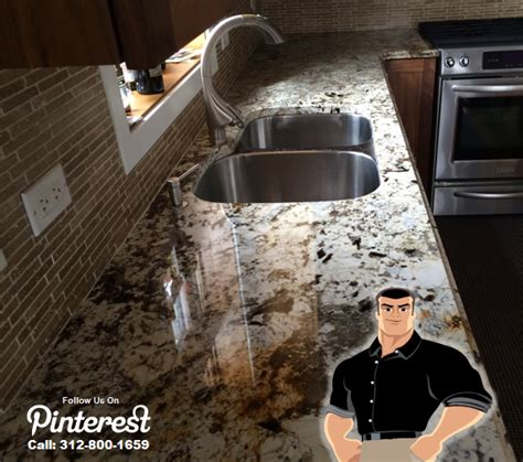 Buffing Granite Countertops counter top cleaning sealing polishing chicago