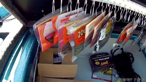 fishing boat tackle storage ideas diy bass boat tackle storage for cheap youtube