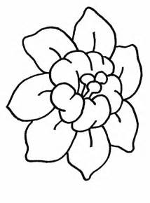 Simple Flowers To Draw For Kids Clipart Best Easy Flower Coloring Pages