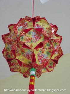 make new year lanterns using packets t done this one yet new year lantern