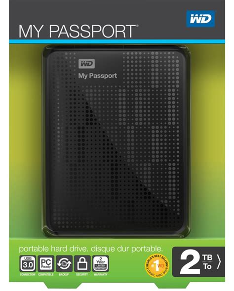 My Digital 2 by 2tb Wd Western Digital Passport Usb 3 0 Portable External