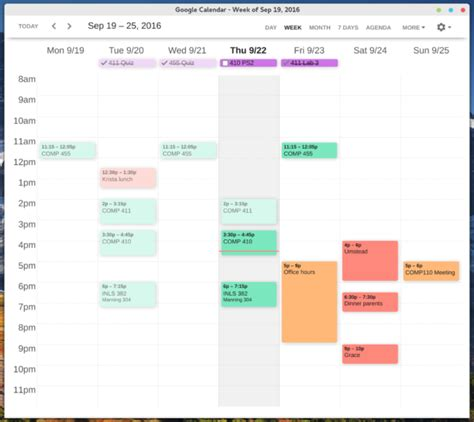 design google calendar am 233 liorer le design de google agenda avec clean google