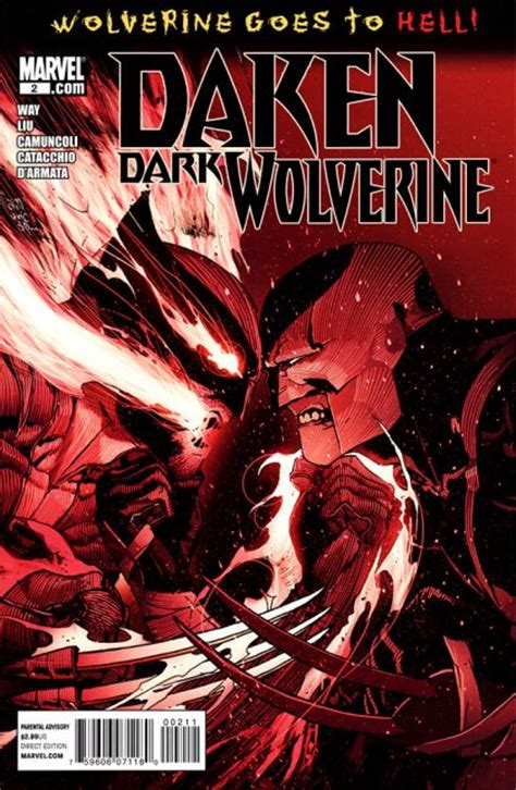 wolverine goes to hell 1302911597 daken dark wolverine 2a wolverine goes to hell empire act 1 part 2 on collectorz com core