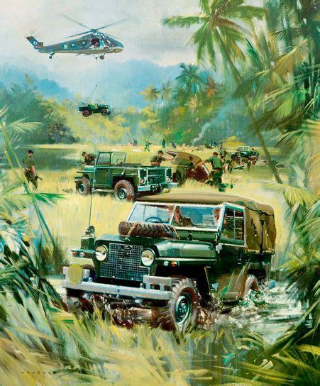 land rover jungle land rover in jungle
