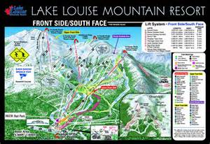 map of lake louise canada lake louise canada piste map free downloadable piste maps