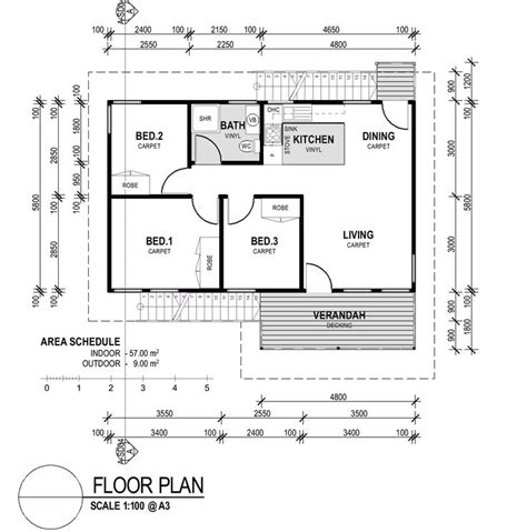 House Floor Plans On Stilts by Impressive Cheap 3 Bedroom Houses 1 Small 3 Bedroom House