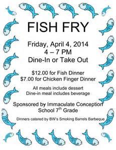 fish fry 7th grade friday april 04 2014 4 00 am 7